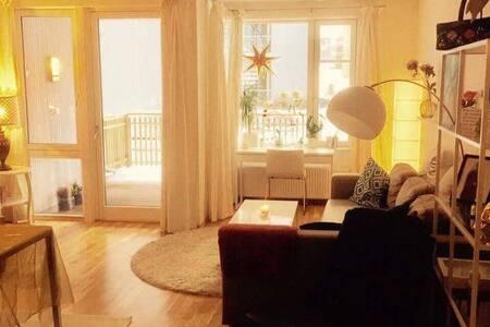 Sentrumsnær nymoderne leilighet 60 m2 på Persaunet - Trondheim