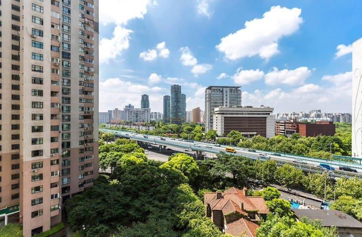 【徐汇】市中心小清新风独立卫生间阳台高层电梯房近地铁