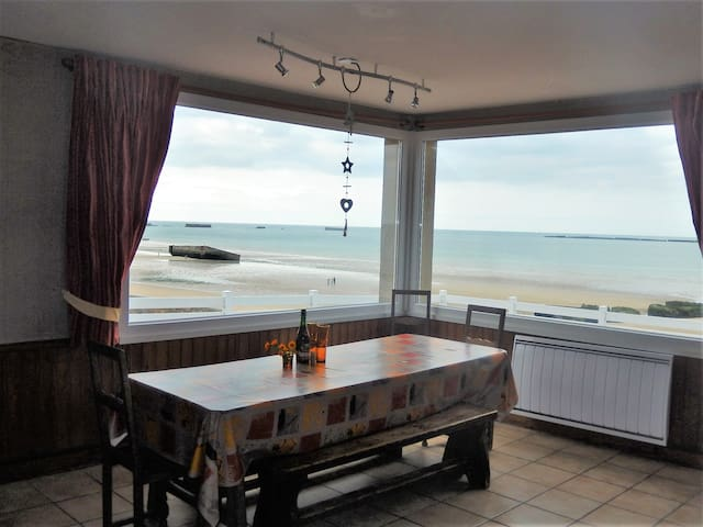 House with wonderful sea view - Arromanches-les-Bains - House
