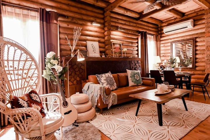 The Log Cabin - Bohemian by iO Home