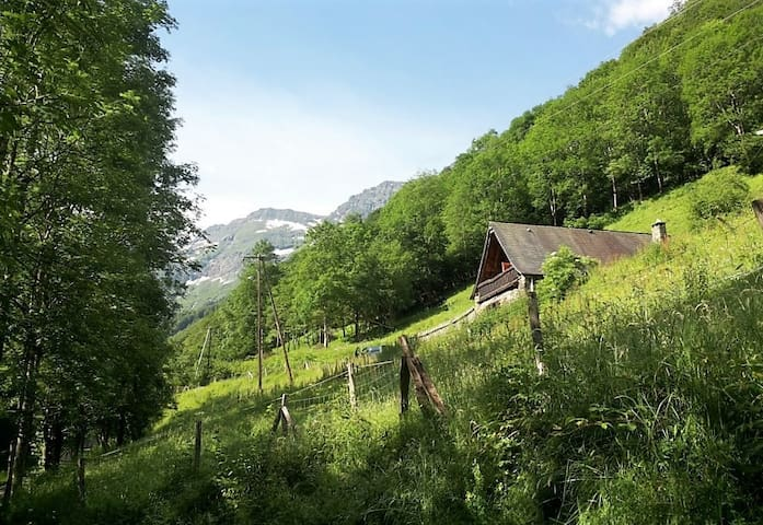 Cosy cottage in the heart of the Pyrenees - Bonac-Irazein - Stuga