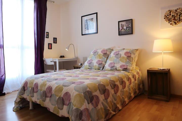 Chambre dans grand appartement - Joué-lès-Tours - Daire