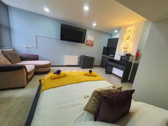 Luxury King Size Central Sunderland Suite 117