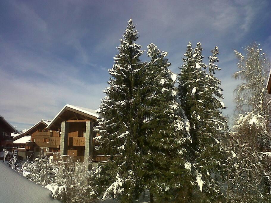 C ur du village des carroz appartements louer carroz - Office du tourisme la salle les alpes ...