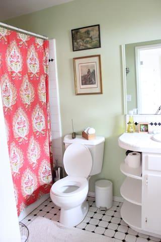 Bathroom Shower/bathtub