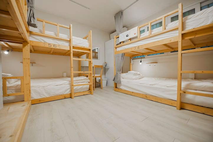 G Guesthouse Hongdae / 7-Bed Mixed Dorm - 1