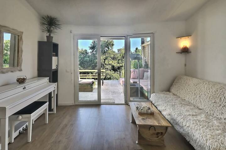 Villa 40m² entre Mer - Piscine - Tranquillité