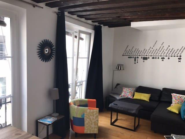 Appartement cosy au cœur de Paris
