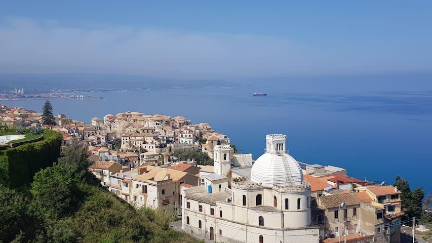 Attico con vista sky terrace a Pizzo