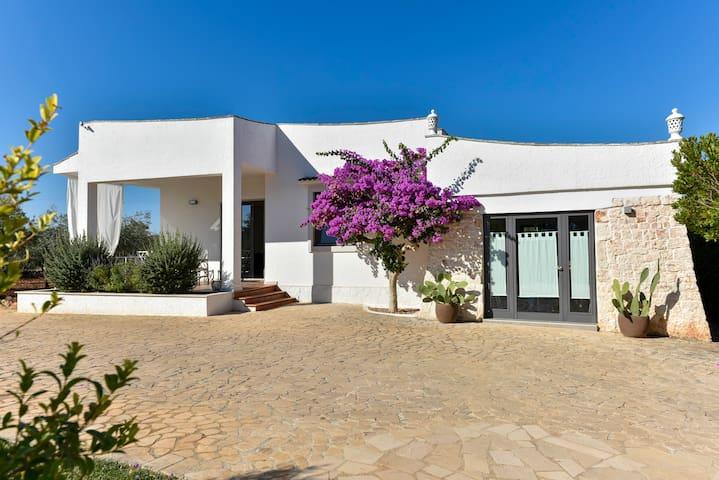 Villa con Giardino in Puglia per 4 persone