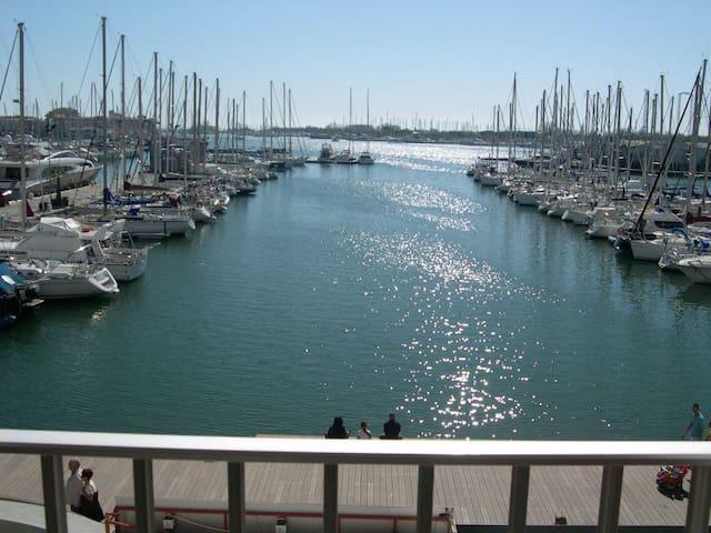 Cap d'Agde T2 sur le Port principal - Agde - Apartamento