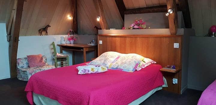 Hotel Au Bosquet Fleuri - Chambre Framboise