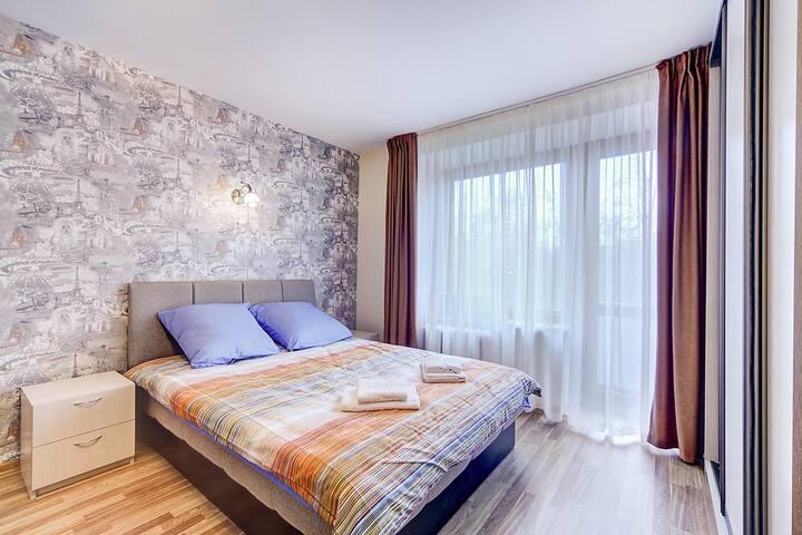 Уютная квартира недалеко от центра - Sankt-Peterburg - Apartemen
