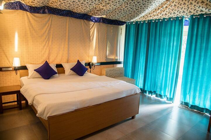 Super Deluxe Tents at Durshet Raigadh Khopoli Maharastra