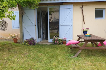Shabby chic gite near thermal town and lake.