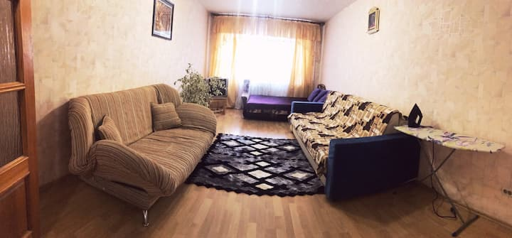 Квартира на Дуки, р-он Кургана Бессмертия,СК Варяг