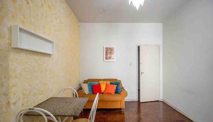 Apartamento completo no melhor do Barro Preto