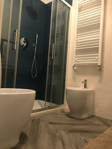 New from January 2019: Bathroom with WC and bidet