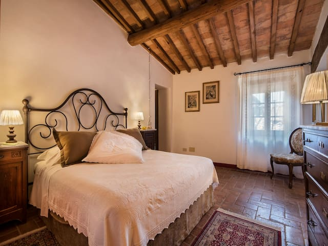 Suite room Canonica Il Casolare di Libbiano