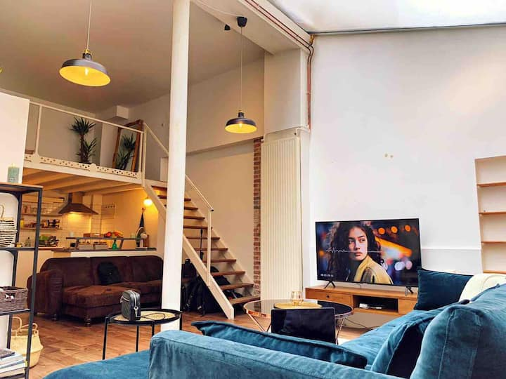 Relaxing loft in Center Paris