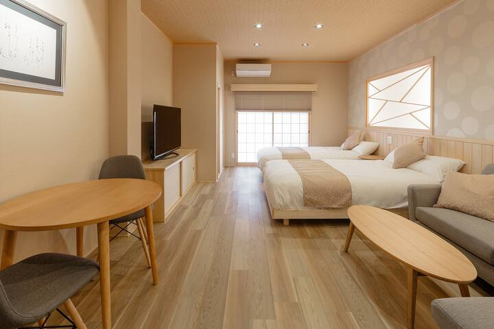 Exquisite Japanese Modern Apt | 8min to KYOTO STA
