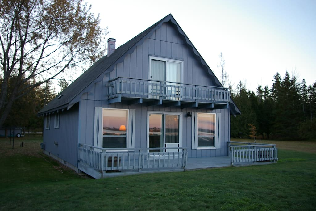 Duncan bay beach house lake huron houses for rent in for 3 4 houses in michigan
