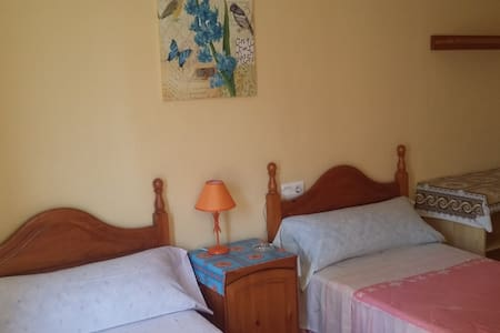 NEXT TO THE TRAIN STATION AND BUS STOP - Algeciras - Apartament