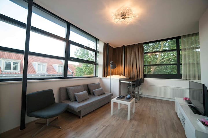 Light, lovely, central apartment in NIJMEGEN - Nijmegen - Condomínio