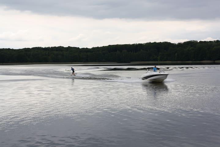 Sporty wodne w Port Jeziorak