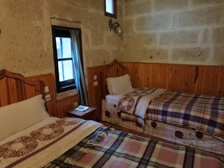 Two Single bed room in stone mansion