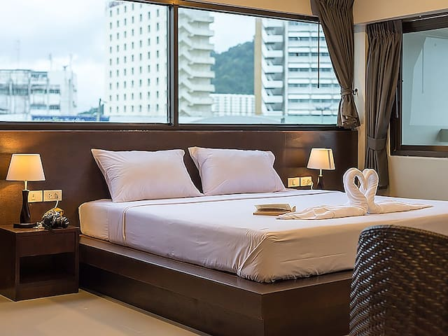 Deluxe double bed with City View - Phuket - Wohnung
