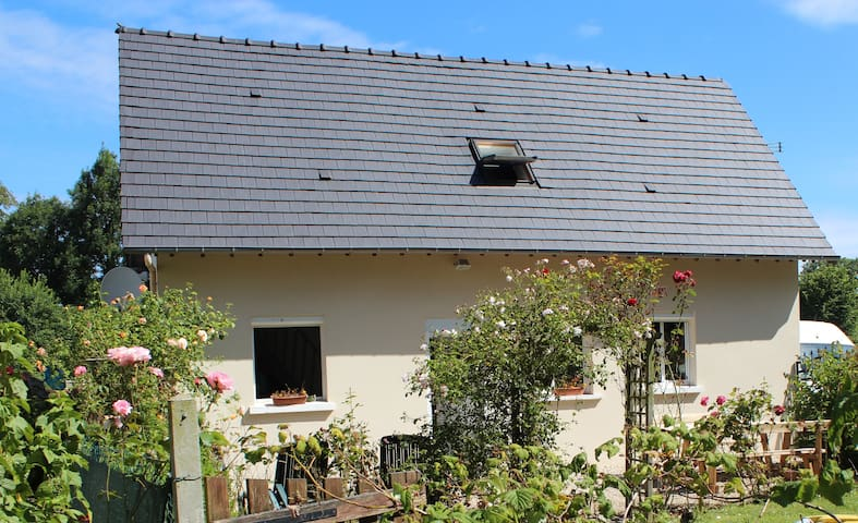 Gite La Roseraie - Anglesqueville-la-Bras-Long - Casa