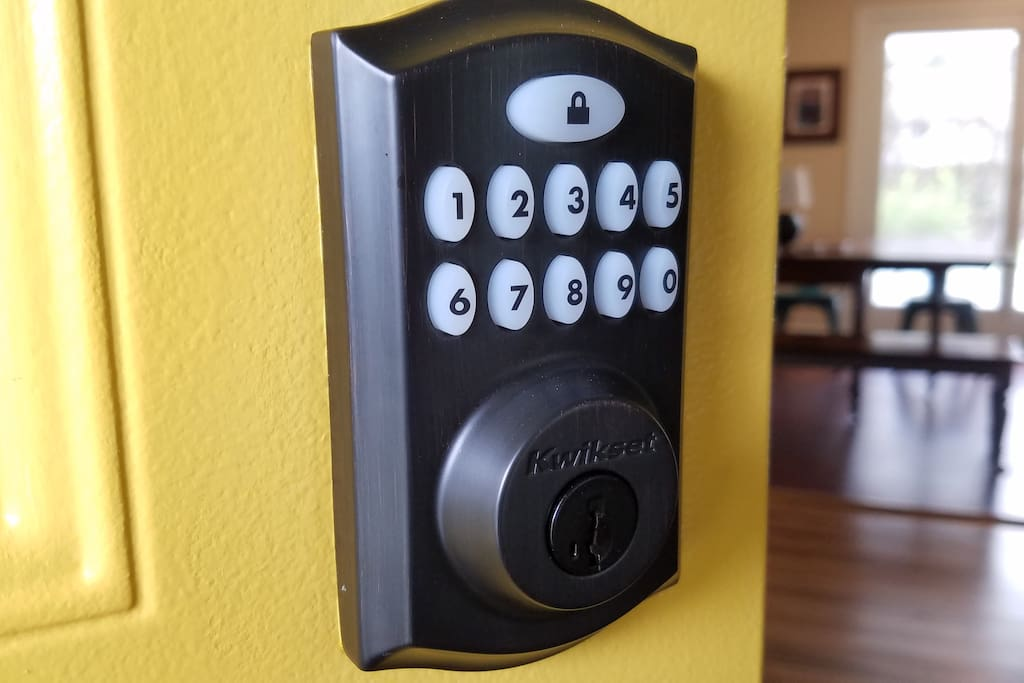 Keypad for self check-in