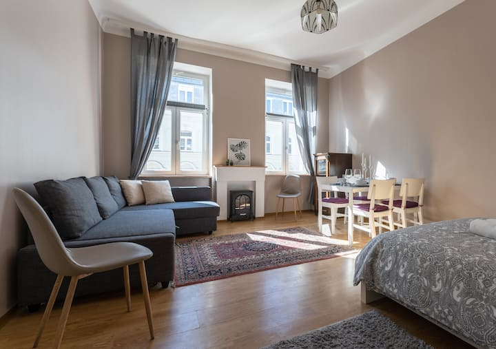 ★Graces Studio very well located near Hauptbahnhof