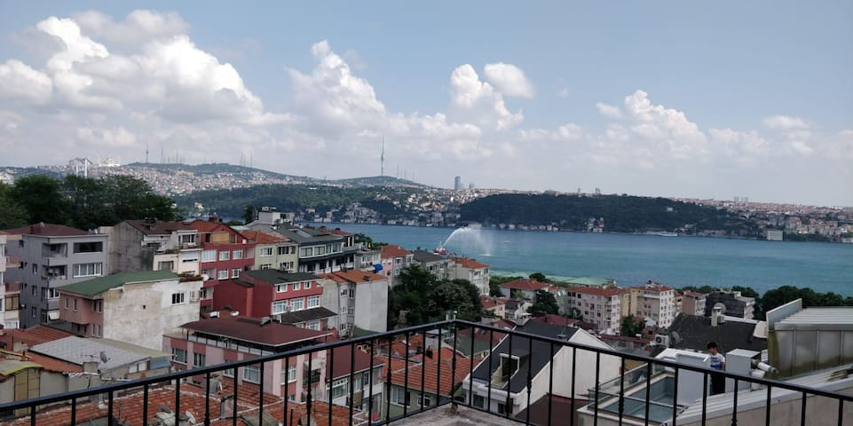 Bosphorus view at your own terrace