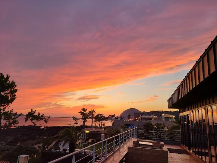 ♥오션뷰제주♥ Ocean View Jeju Guesthouse #8인실여성도미토리 #오션뷰