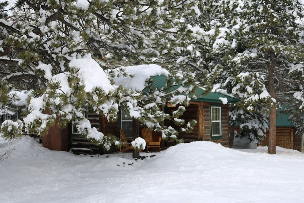 Any time of year, mountain log cabin living will be bring adventure or tranquil peace.