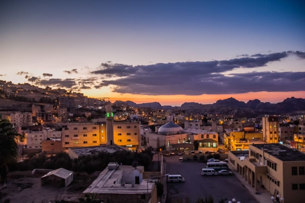 Wadi Musa by Night