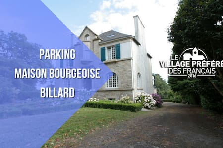 MANSION + PARKING + BILLIARDS - Rochefort-en-Terre - Villa