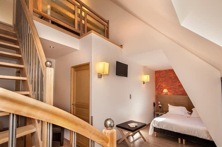 Hôtel Les 2 Rives: suite familliale