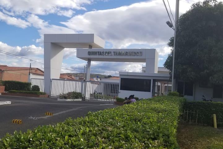 Habitación cerca de la frontera con Venezuela