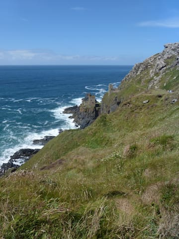 Botallack, lovely coastal walk.