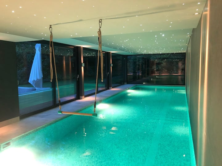 Very luxury holiday villa with large indoor pool