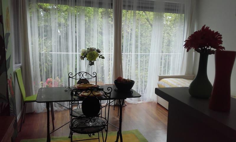 Studio : résidence  près du lac  et centre  ville