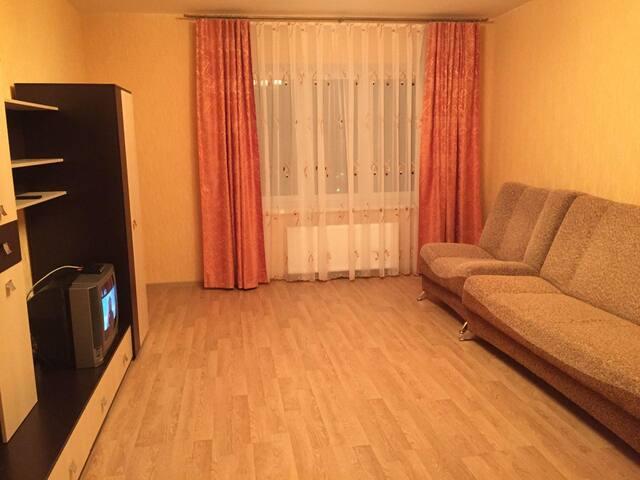 Уютная 1-комнатная квартира - Staryy Oskol - Apartamento