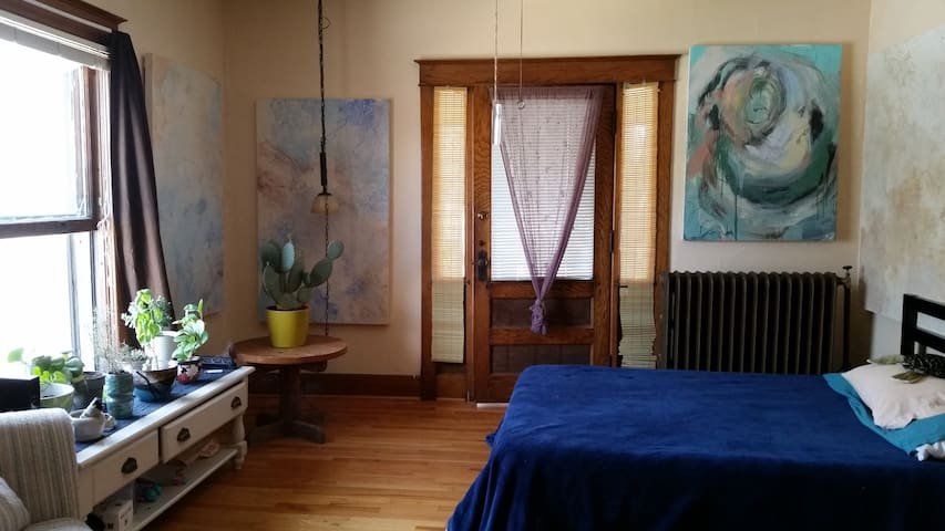 Cozy Art Cove/One Bedroom Apt - Lincoln - Lejlighed