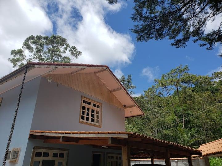 Casa Lumiar, aconchegante, cachoeiras, paradisíaco