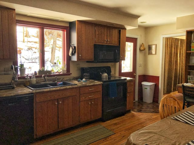 Large Usable Kitchen Space