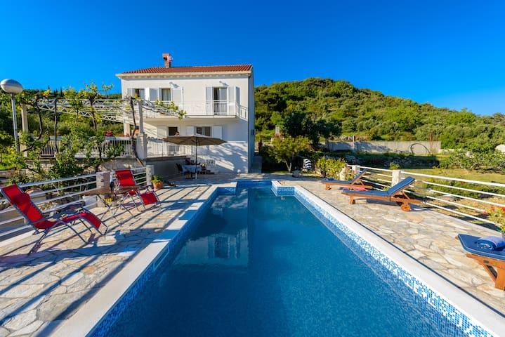 Villa Natura - Zaton bay, Dubrovnik - Dubrovnik - Hus