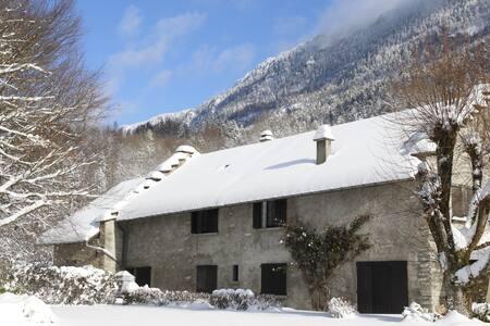 Chambre (n°1) avec cuisine et salon indépendants - Saint-Jean-de-Couz - Hus